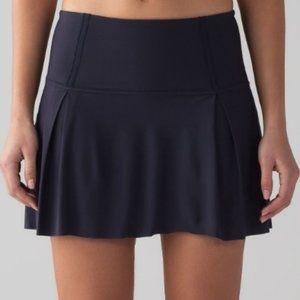 Lululemon Midnight Navy Lost In Pace Skirt 10 Tall